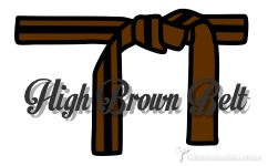 Brown Red Belt